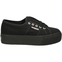 Scarpe Donna Sneakers basse Superga 2790ACOTW LINEA UP AND DOWN 996-full-black