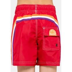 Abbigliamento Unisex bambino Costume / Bermuda da spiaggia Sundek B504BDTA100 548 Rosso