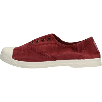 Scarpe Bambino Sneakers basse Natural World - Sneaker da Bambino Bordeaux in Tela 102E-620