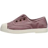 Scarpe Bambina Sneakers basse Natural World - Slip on da Bambino Glicine in  470E-633