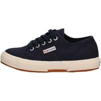 Scarpe Bambino Sneakers basse Superga - 2750 j cot classic blu S0003C0 2750 933 BLU
