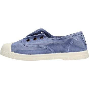 Scarpe Bambino Sneakers basse Natural World - Scarpa elast celeste 470E-690 BLU
