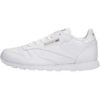 Scarpe Bambino Sneakers basse Reebok Sport - Classic leather bianco 50151
