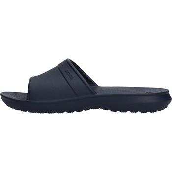 Scarpe Bambino Scarpe acquatiche Crocs - Classic slide k blu 204981 BLU