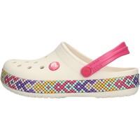Scarpe Bambina Zoccoli Crocs - Crocband gallery bianco 205171