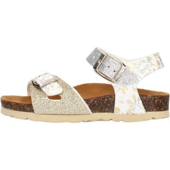 Scarpe Bambina Sandali Gold Star - Sandalo platino 1846L