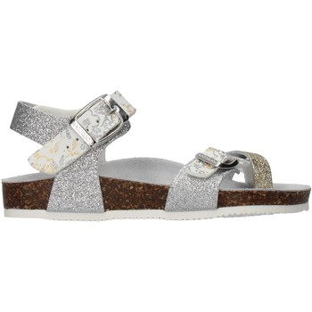 Scarpe Bambina Sandali Gold Star - Sandalo platino 8896L
