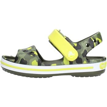 Scarpe Bambino Sandali Crocs - Crocband seasonal verde 205765-738 VERDE