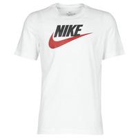 Abbigliamento Uomo T-shirt maniche corte Nike M NSW TEE ICON FUTURA Bianco