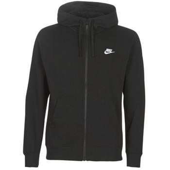 Abbigliamento Uomo Felpe Nike M NSW CLUB HOODIE FZ BB Nero
