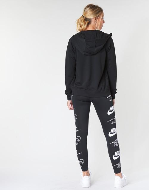 Fz Felpe Nsw Nike Flc Donna Hoodie Nero Essntl W DIeW92HEY