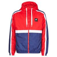 Abbigliamento Uomo Giacche sportive Nike M NSW NIKE AIR JKT SSNL WVN Rosso / Marine