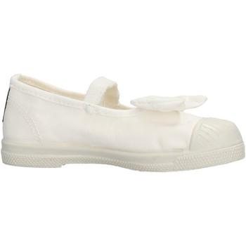 Scarpe Bambina Sneakers Natural World - Ballerina da Bambino Bianco in Tela 473E-505