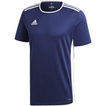 Abbigliamento Bambino T-shirt maniche corte adidas Originals - T-shirt blu CF1036 J BLU
