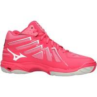 Scarpe Donna Sneakers basse Mizuno - Wave hurricane mid wos rosa V1GC1745-61
