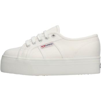 Scarpe Donna Sneakers basse Superga 2790 900 Linw scarpe sneaker bianco in tela da donna BIANCO