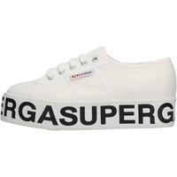 Scarpe Donna Sneakers basse Superga 2790 901 Cotw scarpe sneaker in tela da donna BIANCO