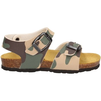Scarpe Bambina Sandali Fly Nature GM48A Verde/Marrone