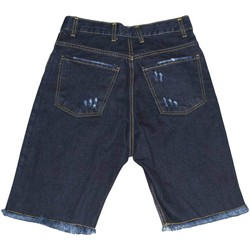 Abbigliamento Uomo Shorts / Bermuda Made In Italia Pantaloncino jeans shorts da uomo man moda giovane denim strapp JEANS