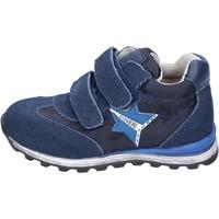 Scarpe Bambino Sneakers basse Enrico Coveri sneakers tessuto camoscio blu