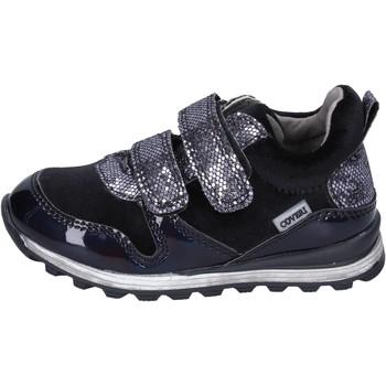 Scarpe Bambina Sneakers basse Enrico Coveri sneakers velluto pelle sintetica nero