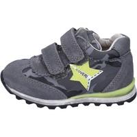 Scarpe Bambino Sneakers basse Enrico Coveri sneakers camoscio tessuto grigio