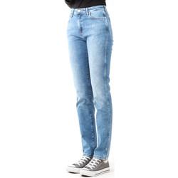 Abbigliamento Donna Jeans skynny Wrangler Boyfriend Best Blue W27M9194O blue