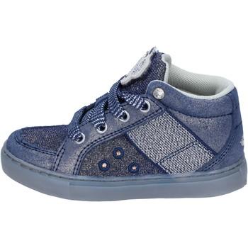 Scarpe Bambina Sneakers alte Lelli Kelly sneakers tessuto camoscio blu