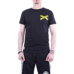 Abbigliamento Uomo T-shirt maniche corte The Bulldog tbda466 Nero