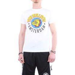 Abbigliamento Uomo T-shirt maniche corte The Bulldog tbda250 Bianco