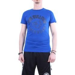 Abbigliamento Uomo T-shirt maniche corte The Bulldog tbda321 Blu