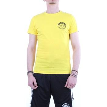 Abbigliamento Uomo T-shirt maniche corte The Bulldog tbda421 Giallo