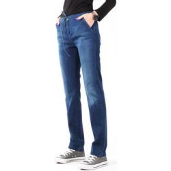 Abbigliamento Donna Jeans skynny Wrangler Slouchy Cosy Blue W27CGM82G granatowy