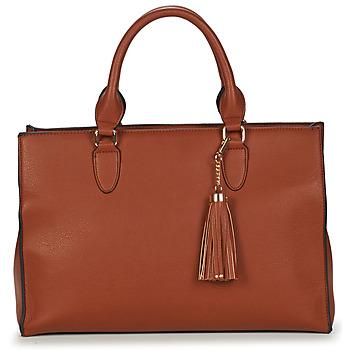 Borse Donna Tote bag / Borsa shopping André LISE Camel