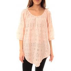 Abbigliamento Donna T-shirt maniche corte Lara Ethnics Chemisier Maria Rose Rosa