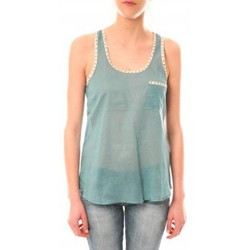 Abbigliamento Donna Top / T-shirt senza maniche Lara Ethnics Débardeur Ambre Vert Verde