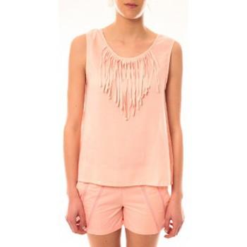 Abbigliamento Donna Top / T-shirt senza maniche Lara Ethnics Débardeur Maelys Rose Rosa