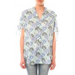 Abbigliamento Donna T-shirt maniche corte Lara Ethnics Tunique Morgane Vert Verde