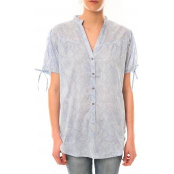 Abbigliamento Donna T-shirt maniche corte Lara Ethnics Tunique Morgane Bleu Blu