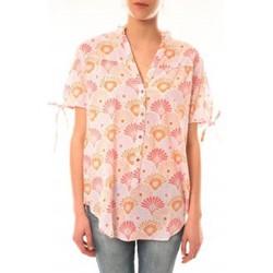 Abbigliamento Donna T-shirt maniche corte Lara Ethnics Tunique Morgane Rose Rosa