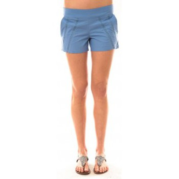 Abbigliamento Donna Shorts / Bermuda Lara Ethnics Short Lola Bleu Blu