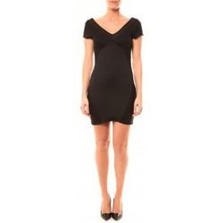 Abbigliamento Donna Abiti corti Vera & Lucy Robe Lucce LC-0312 Noir Nero