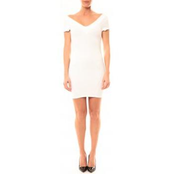 Abbigliamento Donna Abiti corti Vera & Lucy Robe Lucce LC-0312 Blanc Bianco