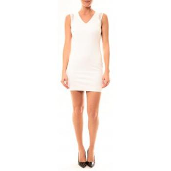 Abbigliamento Donna Abiti corti Vera & Lucy Robe Enzoria 9252 Blanc Bianco