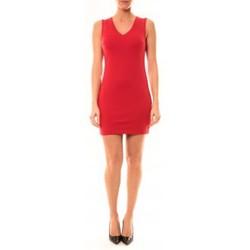 Abbigliamento Donna Abiti corti Vera & Lucy Robe Enzoria 9252 Rouge Rosso