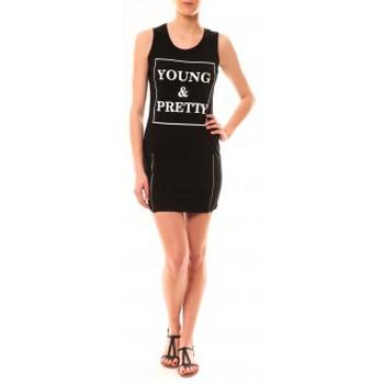 Abbigliamento Donna Abiti corti Vera & Lucy Robe Young MC1577 Noir Nero