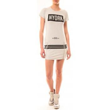 Abbigliamento Donna Abiti corti Vera & Lucy Robe New York MC1575 Gris Grigio
