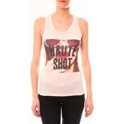 Abbigliamento Donna Top / T-shirt senza maniche By La Vitrine Débardeur D2703 Rose Rosa