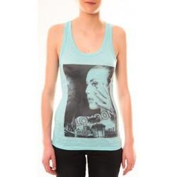 Abbigliamento Donna Top / T-shirt senza maniche By La Vitrine Débardeur D2709 Vert Verde