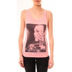 Abbigliamento Donna Top / T-shirt senza maniche By La Vitrine Débardeur D2709 Fushia Rosa